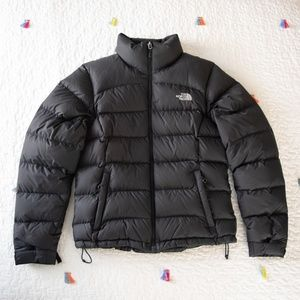 The North Face Black 700 Down Puffer Jacket M